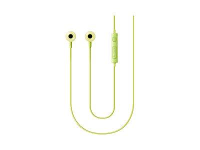 Samsung EO-HS130 - Ohrhörer mit Mikrofon - im Ohr - kabelgebunden - 3,5 mm Stecker - grün