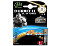 Duracell Ultra Power - Batterie 8 x AAA - Alkalisch