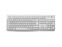 Logitech K120 for Business - Tastatur - USB - Deutsch - weiss