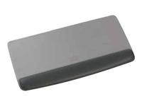 3M Gel Wrist Rest Platform with Antimicrobial Protection WR420LE - Tastaturplattform mit Handgelenkstütze - Schwarz