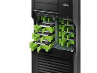 Fujitsu - Laufwerkeinbau-Kit - Kapazität: 4 Festplattenlaufwerke (3,5