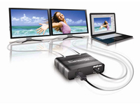 Matrox Graphics eXpansion Module DualHead2Go - Digital SE - Videokonverter - DisplayPort - 2 x DVI