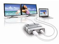Matrox Graphics eXpansion Module DualHead2Go - Digital ME - Videokonverter - DisplayPort - 2 x DVI