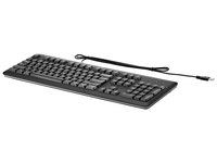 HP USB Keyboard Belgium - English localization