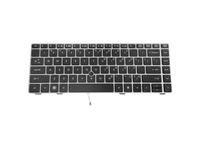 HP - Tastatur - Englisch - US - für EliteBook 8460p