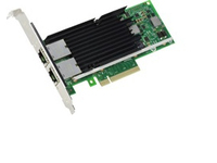 Intel X540 DP - Network adapter - PCI low profile - 10Gb Ethernet x 2 - for PowerEdge C6220, R320, R420, R520, R620, R720, R820,