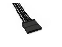 be quiet! CS-6610 - Stromkabel - 5-polige PSU-Stromversorgung (W) bis SATA-Stromstecker (W) - 60 cm - Schwarz