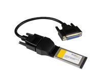 StarTech.com 1 Port Parallel DB-25 Laptop ExpressCard Schnittstellenkarte - SPP/EPP/ECP - IEEE 1284 Adapter Karte (34mm) - Paral