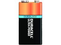 Duracell Ultra Power 9V, 5 Pack, Single-use battery, 9V, Alkali, 9 V, 5 Stück(e), 172 g