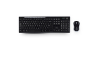 Logitech Wireless Combo MK270 - Tastatur-und-Maus-Set - kabellos - 2.4 GHz - EER
