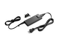 HP Slim-AC-Adapter, 90 W, Notebook, Innenraum, 90 W, Schwarz