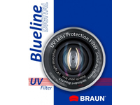 Braun 62mm Blueline UV Filter, 6,2 cm, Ultraviolet (UV) camera filter