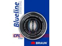 Braun 55mm Blueline Circular Polarising Filter, 5,5 cm, Polarisierender Kamerafilter