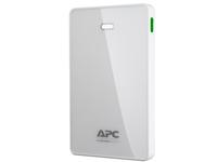 APC Mobile Power Pack - Powerbank - 10000 mAh - 2.4 A - 2 Ausgabeanschlussstellen (USB) - weiss