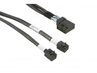 Supermicro - Internes SAS-Kabel - SAS 12Gbit/s - 4x Mini SAS HD (SFF-8643) (M) bis 4x Mini SAS HD (SFF-8643) (M) - 50 cm