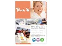 Peach - 125 Mikron - 25 - 106 x 156 mm Taschen für Laminierung
