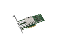 Intel X520 DP - Network adapter - 10Gb Ethernet x 2 - with Intel i350 DP Network Daughter Card - for PowerEdge R620, R630, R710,
