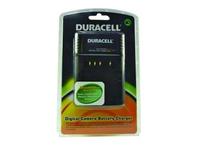 Duracell DR5700N-UK, Schwarz, Batterieladegerät für innen