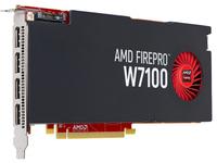 Fujitsu S26361-F3300-L710, FirePro W7100, 8 GB, GDDR5, 256 Bit, 4096 x 2160 Pixel, PCI Express 3.0