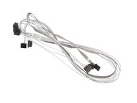 Supermicro - SATA- / SAS-Kabel - mit Sidebands - Mini SAS (SFF-8087) (M) bis SATA, Seitenband (W) - 90 cm - rechts-gewinkelter S