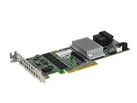 Supermicro Add-on Card AOC-S3108L-H8IR-16DD - Speichercontroller (RAID) - 8 Sender/Kanal - SATA 6Gb/s / SAS 12Gb/s Low-Profile -