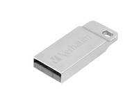 Verbatim Metal Executive - USB-Flash-Laufwerk - 32 GB - USB - Silber