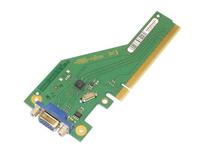 Fujitsu - Zusätzliche Schnittstellenplatine - PCIe x4 - VGA - für Celsius W570; ESPRIMO D556, D757, D957, P757, P757/E94, P957,