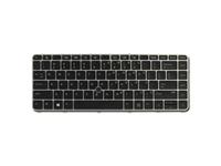 HP - Ersatztastatur Notebook - hinterleuchtet - Finnland / Schweden