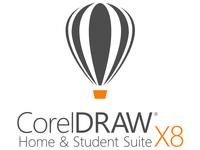 CorelDRAW Home & Student Suite X8 - Lizenz - 3 PCs in einem Haushalt - nicht-kommerziell - ESD - Win