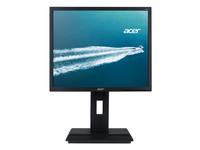Acer B6 B196L, 48,3 cm (19 Zoll), 1280 x 1024 Pixel, SXGA, LED, 6 ms, Schwarz