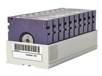 HPE BaFe Non-custom Labeled TeraPack Certified CarbideClean - Storage Library Cartridge Magazine - Kapazität: 10 LTO-6-Bandlaufw