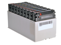 HPE JD Custom Labeled TeraPack Certified - Storage Library Cartridge Magazine - Kapazität: 9 TS1150 tapes - für P/N: Q1G79A, Q1G