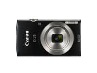 Canon Digital IXUS 185, 20 MP, 5152 x 3864 Pixel, CCD, 8x, HD-Ready, Schwarz