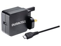 Duracell BUN0075A, Innenraum, AC, 2,4 A, Schwarz