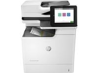 HP Color LaserJet Enterprise MFP M681dh, Laser, 1200 x 1200 DPI, 550 Blätter, A4, Direkter Druck, Schwarz, Grau