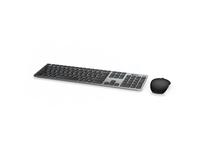 Dell KM717 Premier - Tastatur-und-Maus-Set - Bluetooth, 2.4 GHz - German QWERTZ - Grau - retail