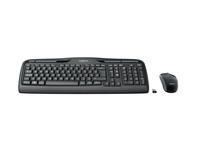 Logitech Wireless Combo MK330 - Tastatur-und-Maus-Set - kabellos - 2.4 GHz - Deutsch