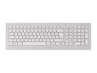 CHERRY DW 8000 - Tastatur-und-Maus-Set - kabellos - 2.4 GHz - Schweiz - weiss, Silber