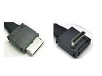 Intel OCuLink Cable Kit AXXCBL530CVCR - Internes SAS-Kabel - 4i MiniLink SAS (SFF-8611) (M) gerade bis 4i MiniLink SAS (SFF-8611