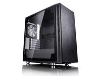 Fractal Design Define Mini C TG, Mini-Tower, PC, ITX,Mini-ATX, Schwarz, 17,2 cm, 31,5 cm