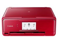 Canon PIXMA TS8152, Tintenstrahl, 4800 x 1200 DPI, 100 Blätter, A4, Direkter Druck, Rot