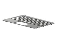 HP 927658-DH1, Gehäuse-Unterteil+Tastatur, Nordic, HP, Chromebook x360 11 G1