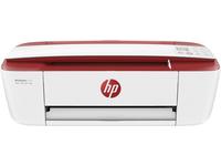 HP DeskJet DeskJet 3730 All-in-One-Drucker, Thermal Inkjet, 4800 x 1200 DPI, 60 Blätter, A4, Direkter Druck, Rot, Weiss