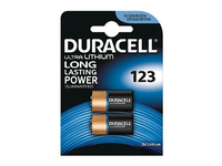 Duracell Ultra M3 Lithium Pack of 2, Single-use battery, Lithium, Zylindrische, 3 V, 2 Stück(e), Schwarz
