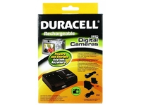 Duracell Camera Battery Charger with USB Charger, Auto, Innenraum, Outdoor, AC, Zigarettenanzünder, USB, 5 V, Schwarz