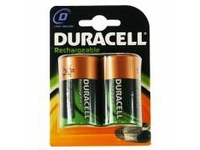 Duracell Rechargeable D Size 2 Pack, Rechargeable battery, Nickel-Metallhydrid (NiMH), 1,2 V, 2 Stück(e), 2200 mAh, Schwarz, Gol