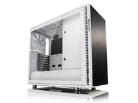Fractal Design Define R6, Midi-Tower, PC, Aluminium, Gehärtetes Glas, ATX,EATX,ITX,Micro-ATX, Weiss, 18,5 cm