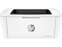 HP LaserJet Pro M15w, Laser, 600 x 600 DPI, A4, 150 Blätter, 18 Seiten pro Minute, Weiss