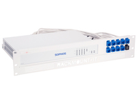 Rackmount.IT RM-SR-T3, Montageschelle, Weiss, 2U, 0,5 m, Sophos SG 125 Rev. 3, SG 135 Rev. 3, 482 mm
