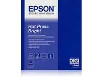 Epson Fine Art Hot Press Bright - Baumwolle - glatt matt - hochweiss - Rolle A1 (61,0 cm x 15 m) - 330 g/m²